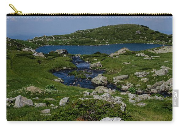 The Fish Lake-rila Lakes Carry-all Pouch