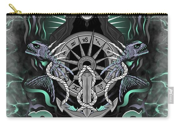 The Fish Pisces Spirit Carry-all Pouch