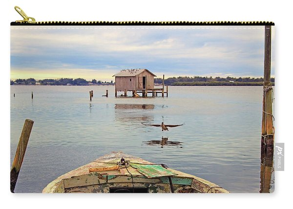 The Fishing Shack Carry-all Pouch
