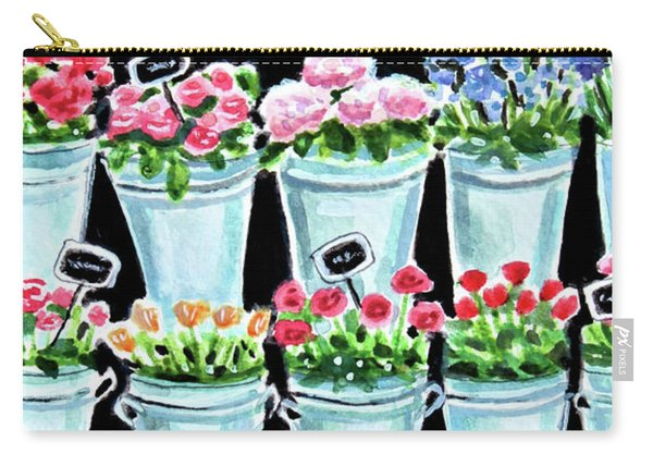 The Flower Shop Carry-all Pouch