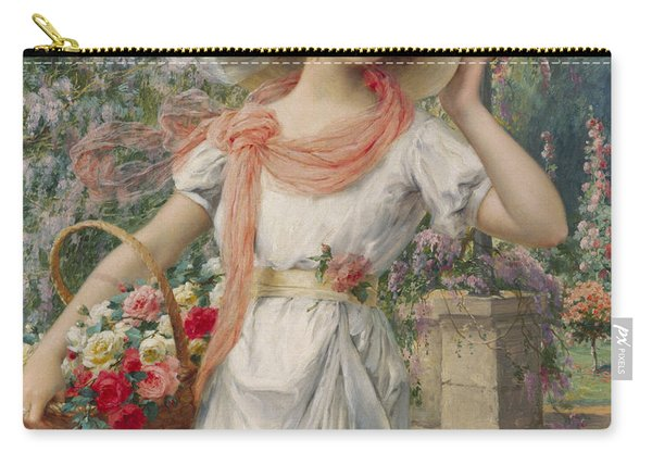 The Flower Girl Carry-all Pouch