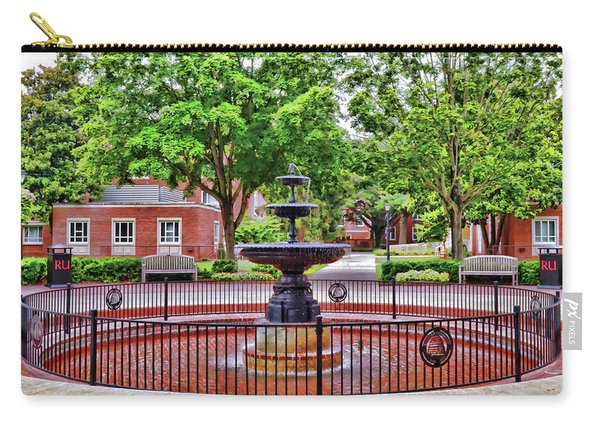 The Fountain At Radford University Carry-all Pouch