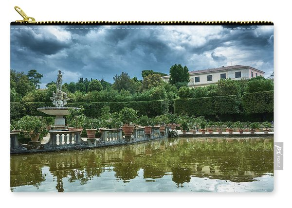 The Fountain Of The Ocean At The Boboli Gardens Carry-all Pouch