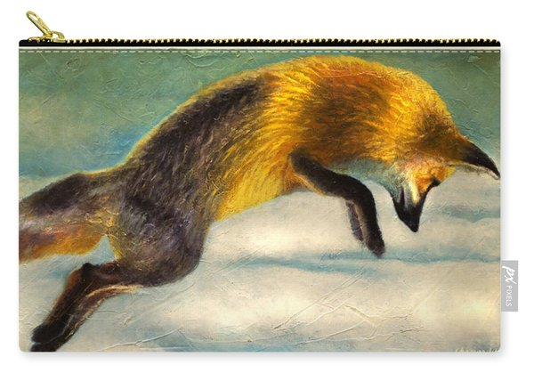 The Fox Hop Carry-all Pouch