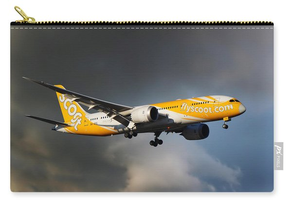 The Future Is Yellow Carry-all Pouch