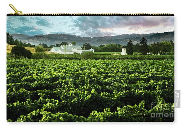 The Gamble Vineyard Carry-all Pouch