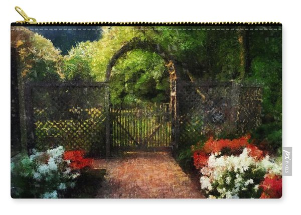 The Garden Path Carry-all Pouch