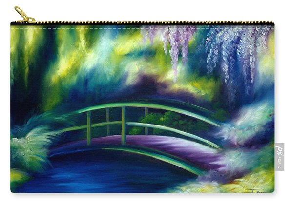 The Gardens Of Givernia Carry-all Pouch