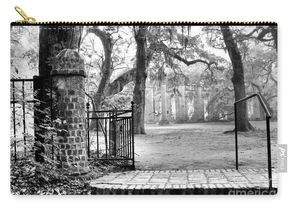 The Gates Of The Old Sheldon Church Carry-all Pouch
