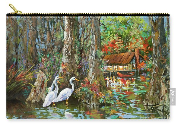 The Gathering - Louisiana Swamp Life Carry-all Pouch