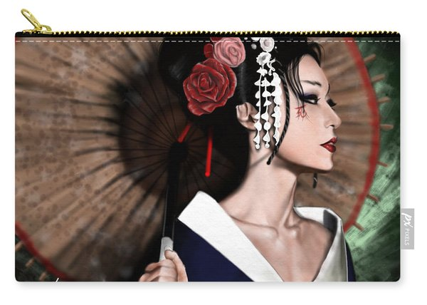 The Geisha Carry-all Pouch