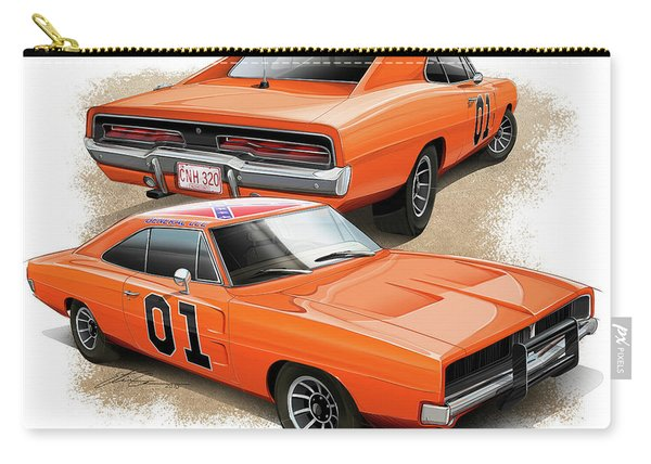 The General Lee Carry-all Pouch