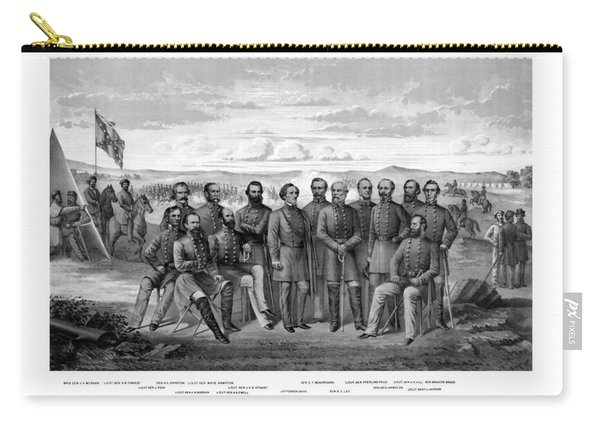 The Generals Of The Confederate Army Carry-all Pouch