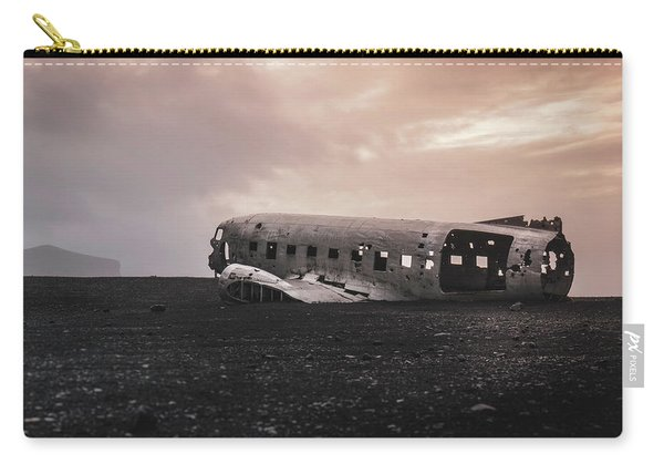 The Ghost - Plane Wreck In Iceland Carry-all Pouch