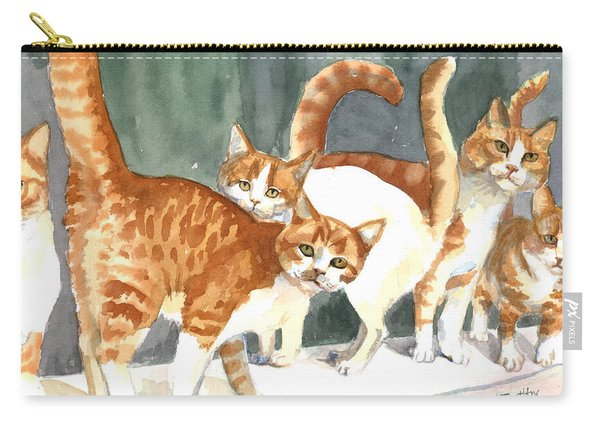 The Ginger Gang Carry-all Pouch