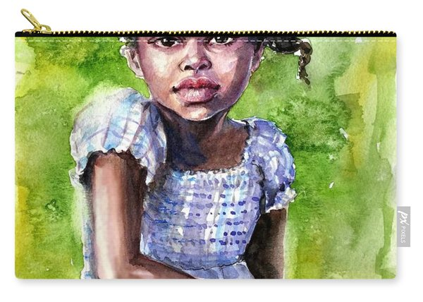 The Girl On The Veranda Carry-all Pouch