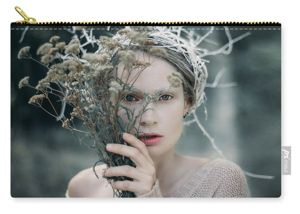 The Glance. Prickle Tenderness Carry-all Pouch