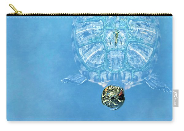 The Glass Turtle Carry-all Pouch