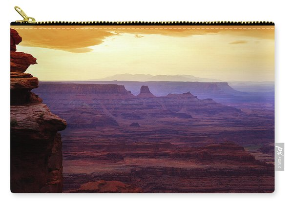 The Gold Light Of Dawn Carry-all Pouch