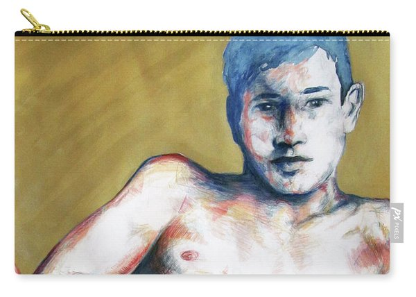 The Golden Boys Stares Back  Carry-all Pouch