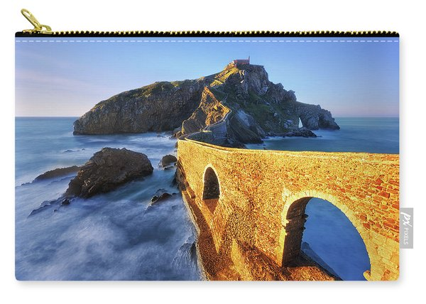 The Golden Bridge Carry-all Pouch