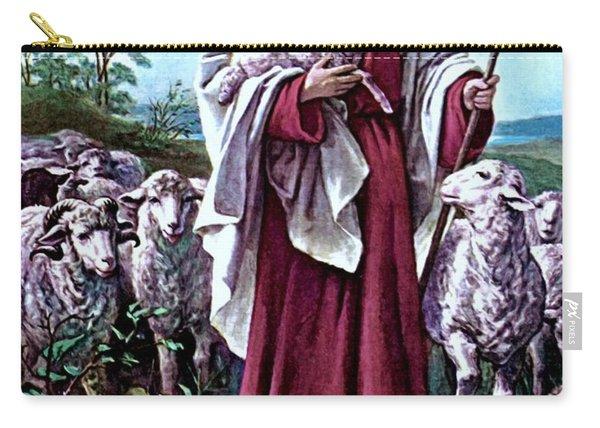 The Good Shepherd 1878 Bernhard Plockhorst Carry-all Pouch