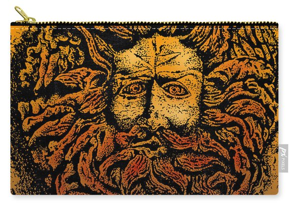 The Gorgon Man Celtic Snake Head Carry-all Pouch