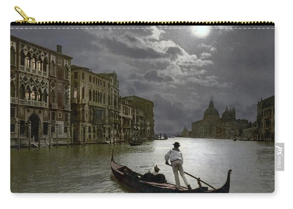 The Grand Canal Venice By Moonlight Carry-all Pouch