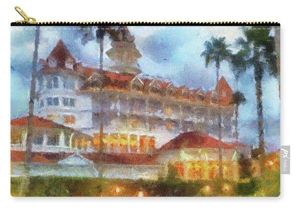 The Grand Floridian Resort Wdw 01 Photo Art Mp Carry-all Pouch
