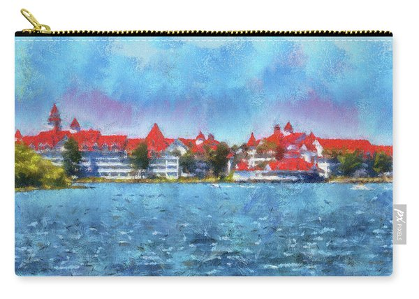 The Grand Floridian Resort Wdw 03 Photo Art Mp Carry-all Pouch