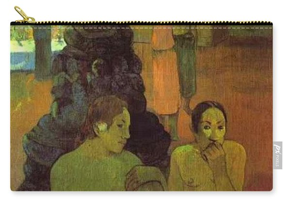 The Great Buddha Paul Gauguin Carry-all Pouch