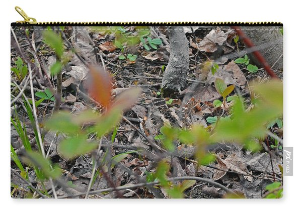 The Great Camouflage Of The Woodcock Carry-all Pouch