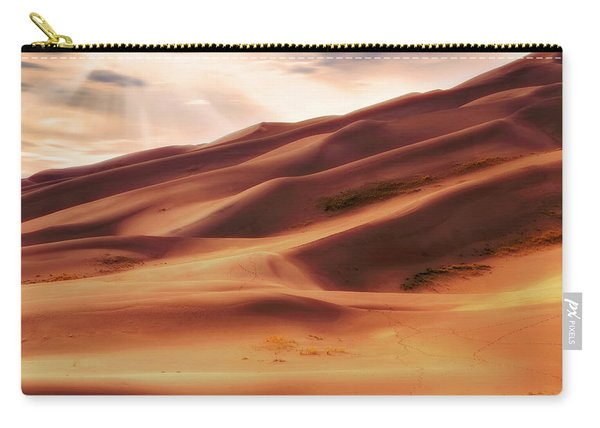 The Great Sand Dunes Of Colorado - Landscape - Sunset Carry-all Pouch