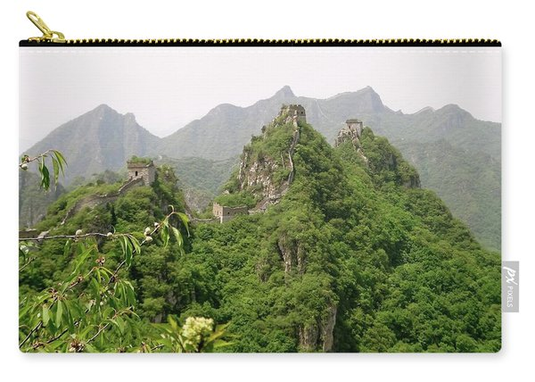The Great Wall Of China Winding Over Mountains Carry-all Pouch