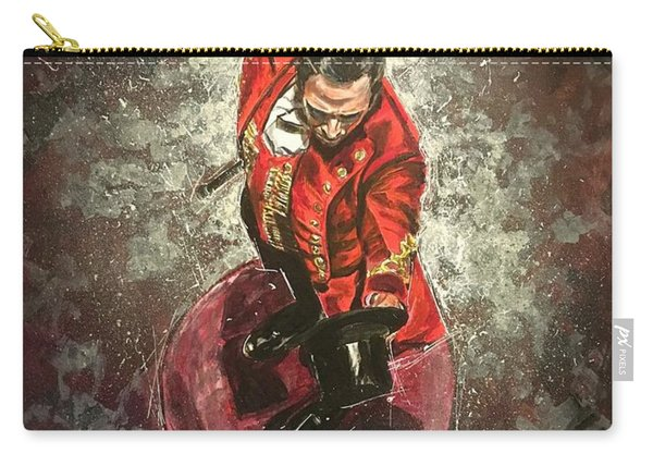 Carry-all Pouch featuring the painting The Greatest Showman by Joel Tesch