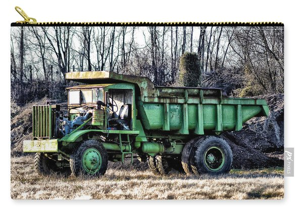 The Green Dump Truck Carry-all Pouch