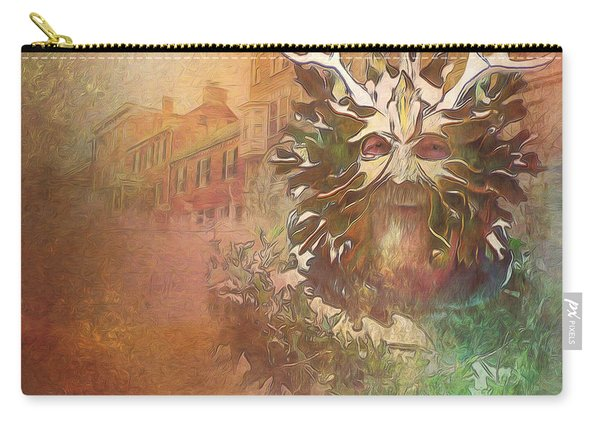 The Green Man Cometh Carry-all Pouch