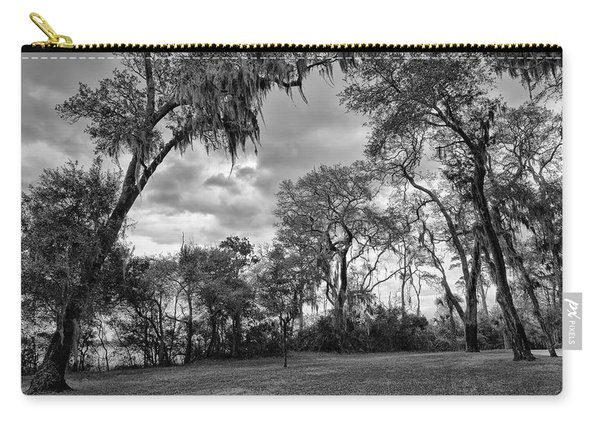 The Grounds Of Fort Caroline National Memorial Carry-all Pouch