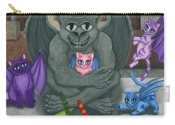 The Guardian Gargoyle Aka The Kitten Sitter Carry-all Pouch