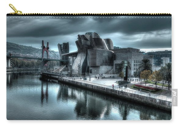 The Guggenheim Museum Bilbao Surreal Carry-all Pouch