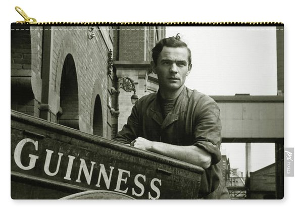 The Guinness Man Carry-all Pouch