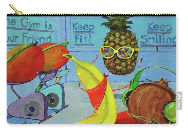 The Gym Is Your Friend Carry-all Pouch