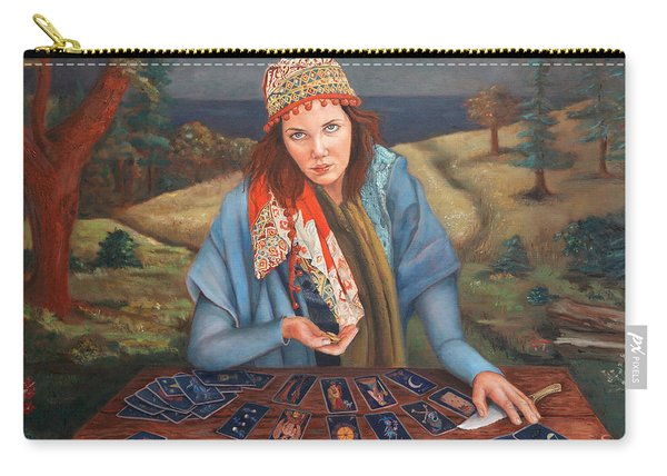 The Gypsy Fortune Teller Carry-all Pouch