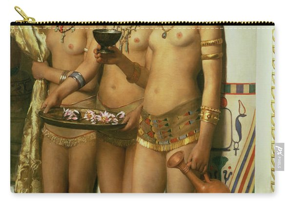 The Handmaidens Of Pharaoh Carry-all Pouch