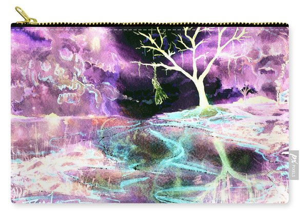 The Hanging Tree Inverted Carry-all Pouch