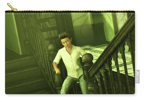 The Haunted Manor Carry-all Pouch