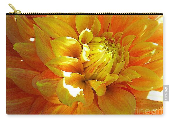 The Heart Of A Dahlia Carry-all Pouch