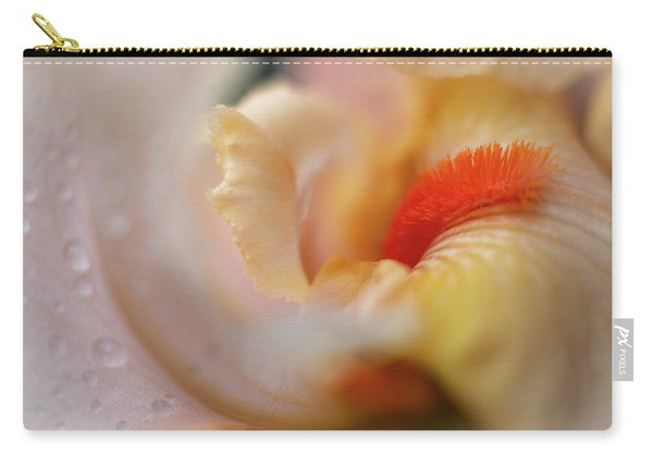 The Heart Of A Yellow Iris Carry-all Pouch