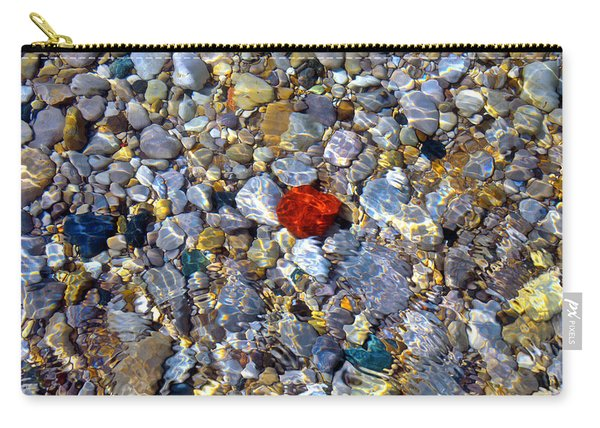 The Heart Of Lake Michigan Carry-all Pouch