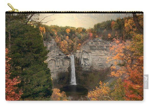 The Heart Of Taughannock Carry-all Pouch